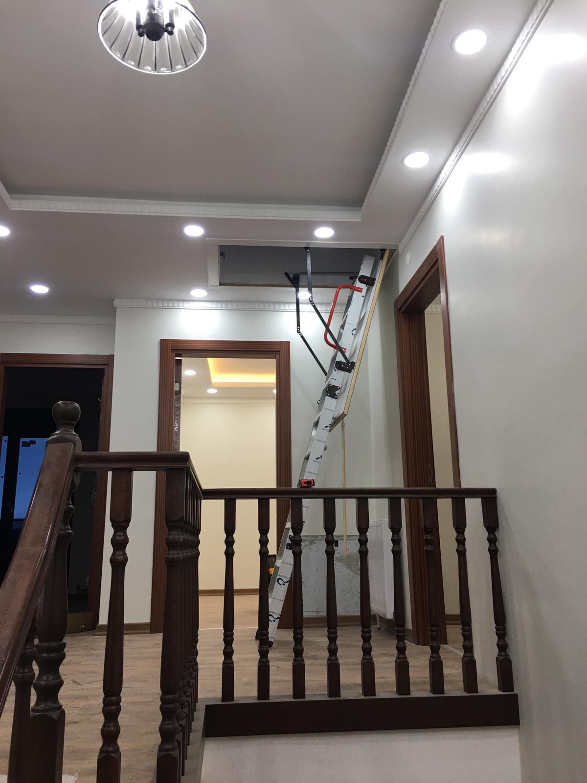 alüminyum teras çatı merdivenleri