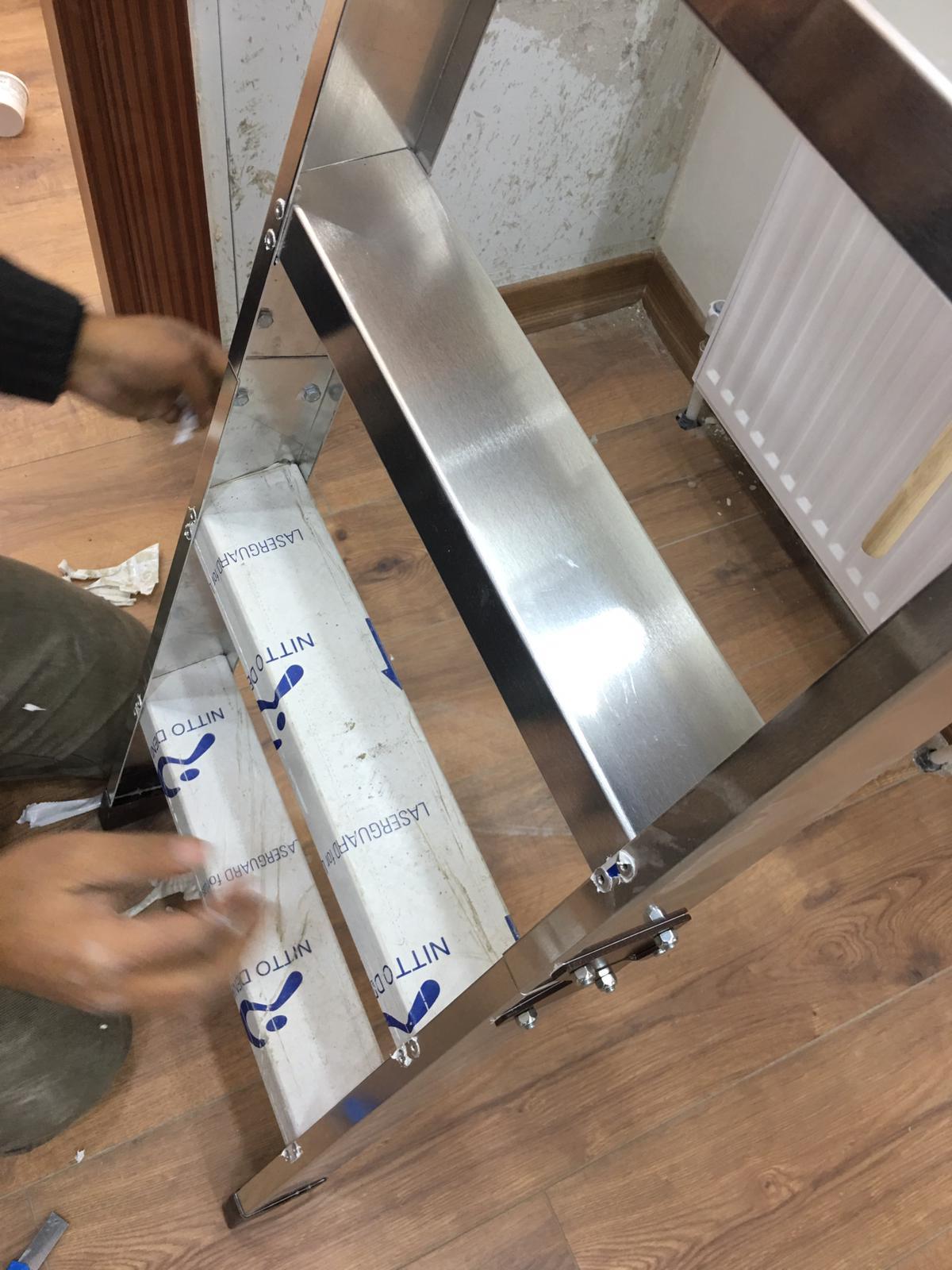 pazlanmaz alüminyum merdivenler