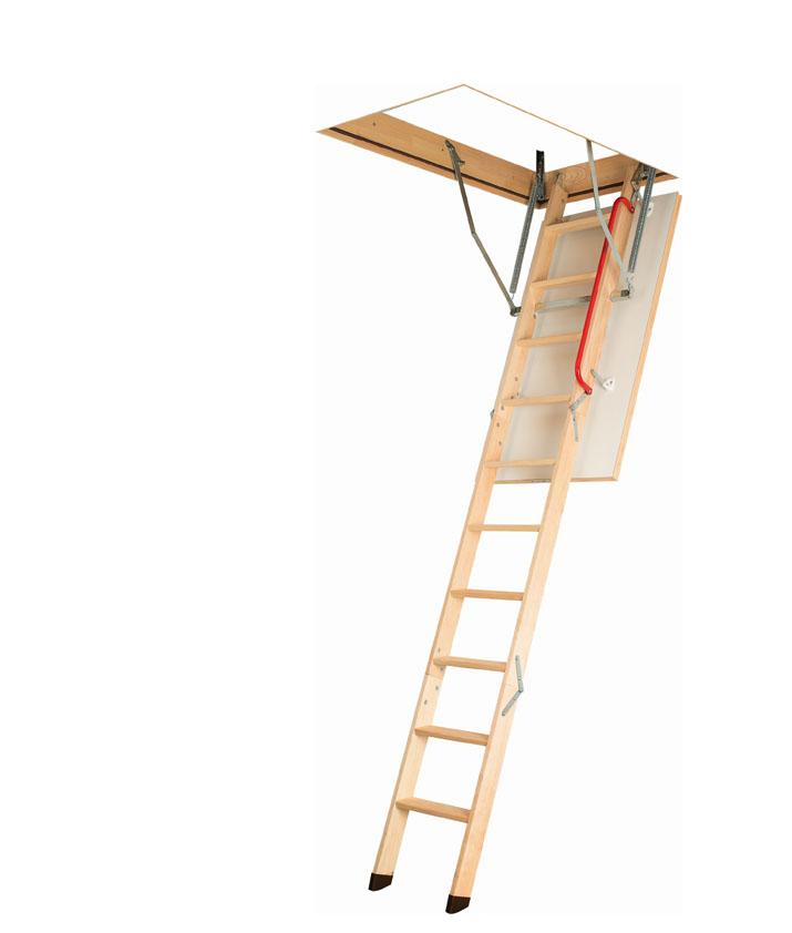 katlanır ahşap çatı merdivenleri
