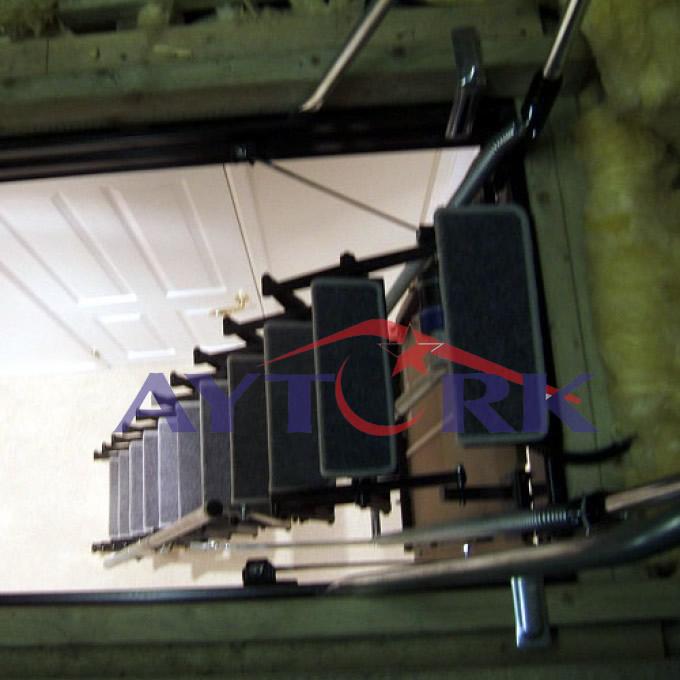 Elektrikli Çatı Merdiveni