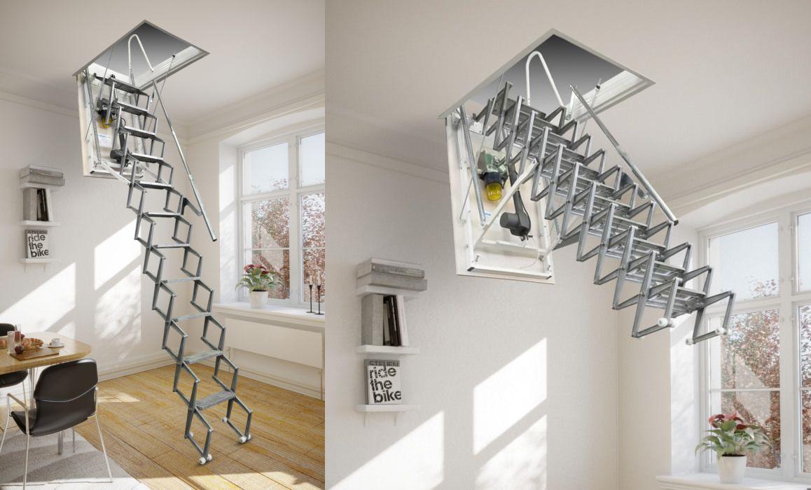 En Kaliteli Elektrikli Çatı Merdivenleri