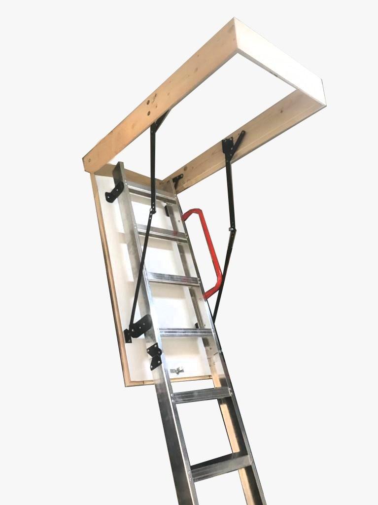 alüminyum çatı merdivenleri