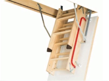 fakro ahşap lwk çatı merdivenleri