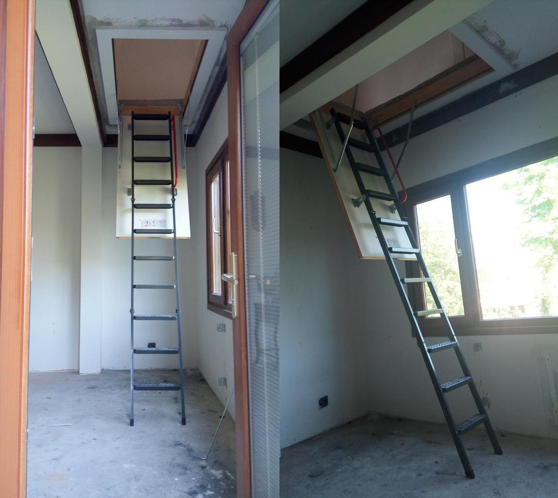 en uygun katlanır lmk çatı merdivenleri