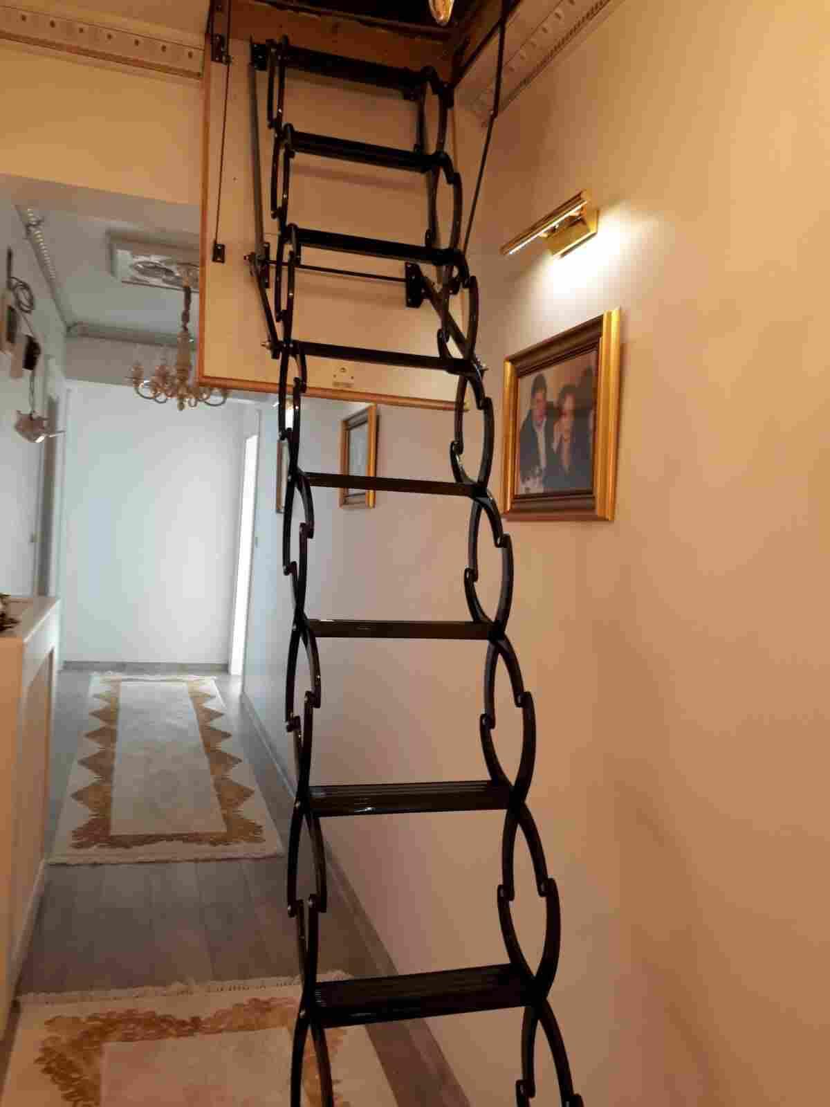 nukan makaslı çatı merdiveni fiyatı