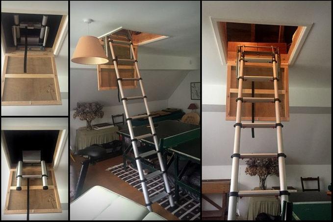 Teleskopik Çatı Merdiveni Fiyatı